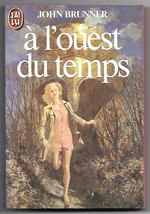 Quicksand (A l'Ouest du Temps) John Brunner French Book Gordon Crabb Cov... - $5.50