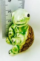 Decor Tiny Ceramic Turtle Mini Seated Figurines Garden Decor Aquarium Ha... - $8.72