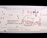 20001a chicago rock island   pacific railroad dividend check 1961 collectible thumb155 crop