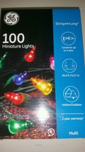GE Multi Color 100 ct String Lights - $7.50