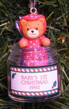 """ENESCO """"LUCY AND ME BABY'S FIRST CHRISTMAS TASTY TIDINGS"""" CHRISTMAS ORNA... - $13.88"""
