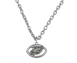 Philadelphia Eagles Necklace, Eagles Jewelry, Eagles Gift, Football Neck... - $181,73 MXN
