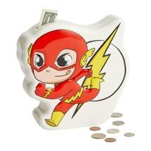 DC Super Friends Flash Coin Money Bank Durable Dolomite image 1