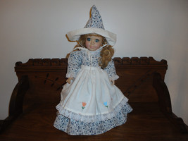 Brenda Thomas Once Upon a Rhyme 1993 Musical DUTCH DOLL Porcelain 16 inch - $85.82