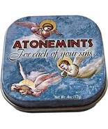 Atonemints Mints For Each of Your Sins in Illustrated Tin Box .4 oz, NEW... - $5.94