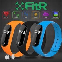 Fitr ™ Bluetooth Correr Ciclismo Monitor Ritmo Cardíaco Rastreador Fitne... - $17.13