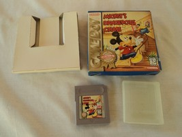 Mickey's Dangerous Chase Game Boy Game and Box - $17.27