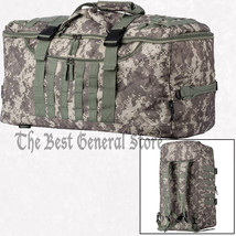 "Digital Camo 24"" Tote Backpack Duffle Bag Day Pack Hunting Hiking Campin... - $55.95"