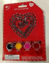 Crafts DIY Heart-Shaped Suncatcher Fun & Easy Ages 3+ - $3.00