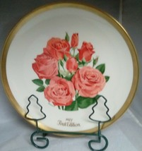 Gorham All American Rose Cathedral Collector Plate 1976 - $8.81