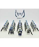 Star Wars 501st Legion Captain Rex Jesse Echo 23pcs Minifigures Custom Toys - $33.99