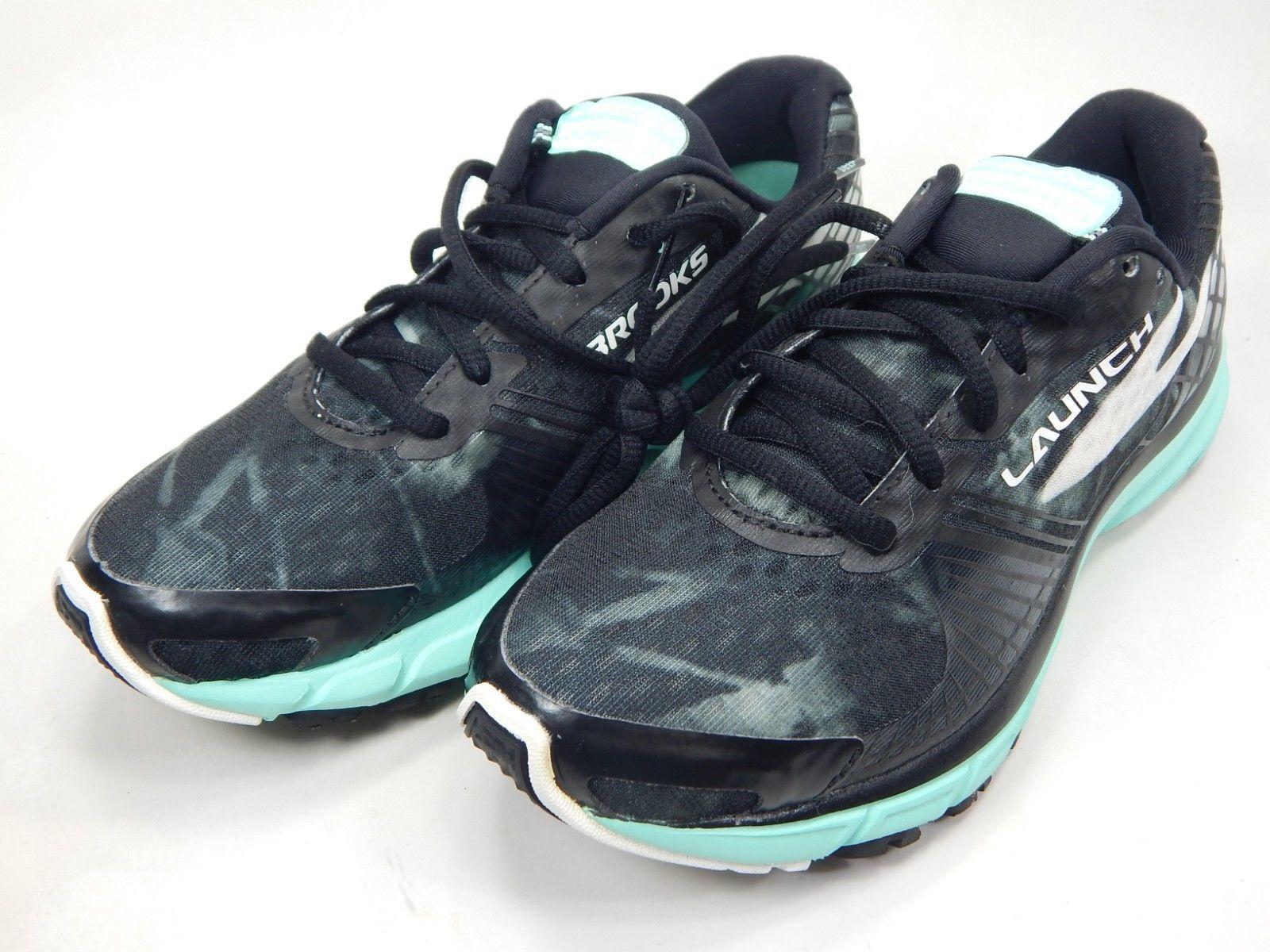 Brooks Launch 3 Size 6.5 M (B) EU 37.5 Women's Running Shoes Black 1202061B071 image 3