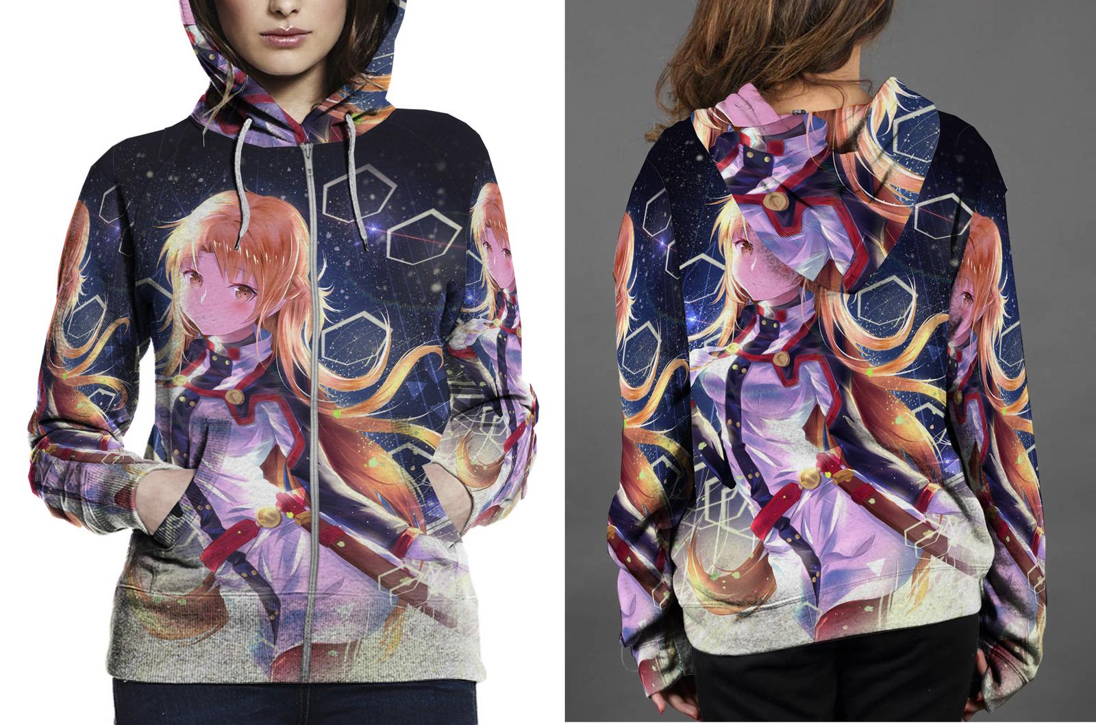 Krito zipper hoodie women s