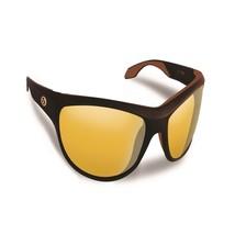 Flying Fisherman Cayo Matte Bronze w/Yellow Amber Sunglasses - $24.95
