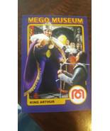 2009 MEGO MUSEUM ERROR PROMO CARD KING ARTHUR 72 FRONT THE BLACK NIGHT #... - $24.74