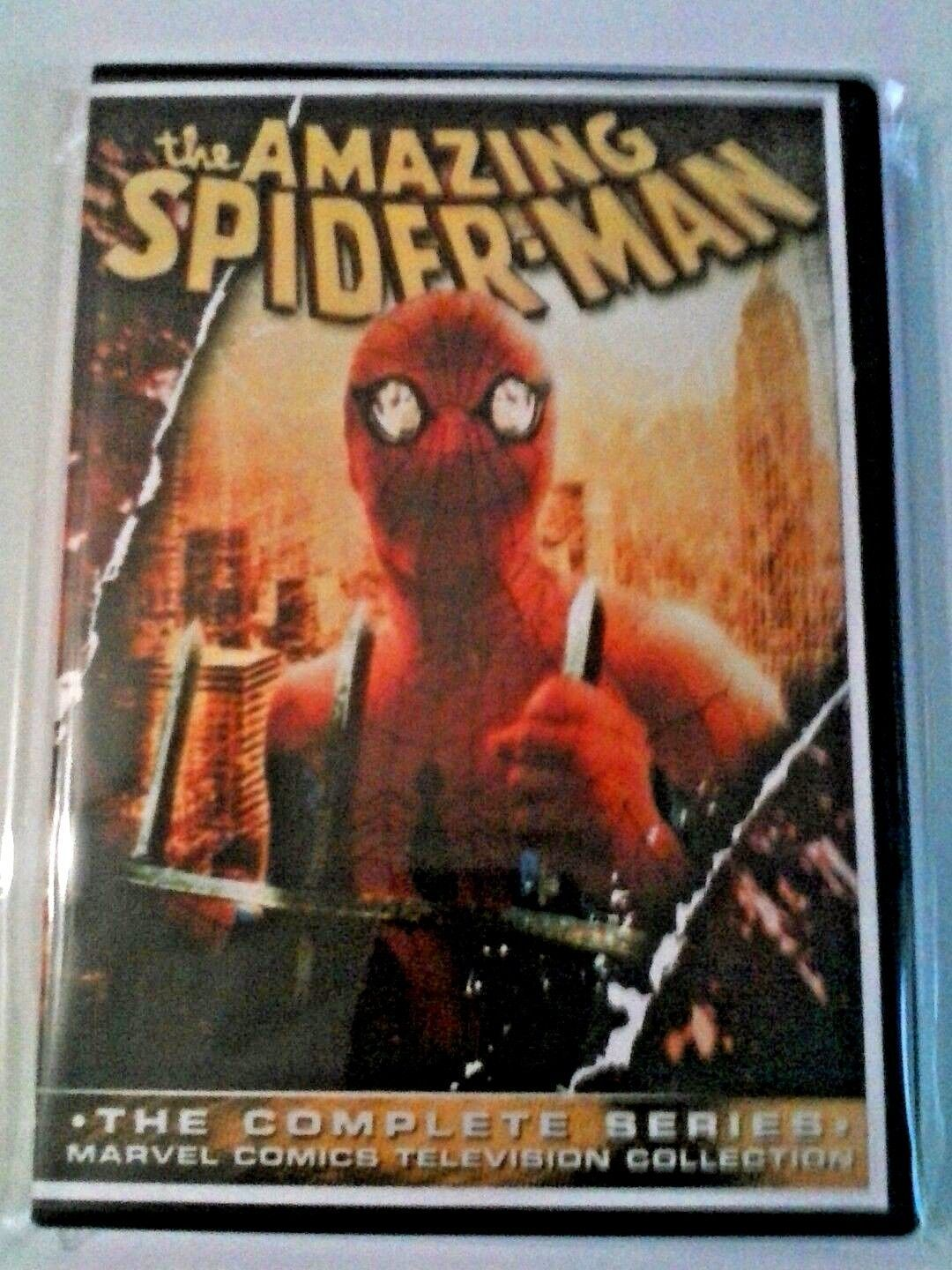 Primary image for Spiderman 1977 Complete Live Action TV Series 4 DVD Set - Nicholas Hammond