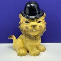 Goebel Lion figurine top hat 33505 W Germany west sculpture hummel vinta... - $74.25