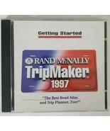 Rand McNally TRIPMAKER Installation PC CD ROM 1997 - $12.19