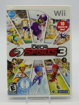 Deca Sports 3 (Nintendo Wii, 2010) Complete in Box CIB 10 Games in 1 Hudson - $14.73