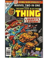 Marvel Two-In-One Annual Comic Book #1 The Thing & Liberty Legion, 1976 ... - $8.32