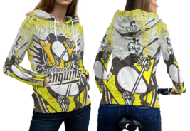 Pittsburgh Penguins Pullover Fullprint Hoodie For Women - $55.99
