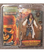 NECA Pirates Of The Caribbean Cannibal Jack Sparrow Figure New In The Pa... - $34.99