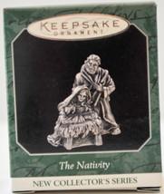 Hallmark  The Nativity  Pewter  Series 1st  1998  Miniature Keepsake Orn... - $10.19