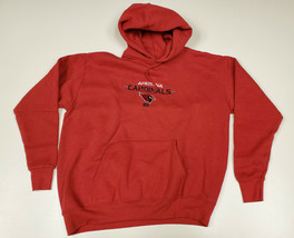 Arizona Cardinals NFL Team Apparel Pullover Hoodie Red Sweatshirt - Size... - $12.73