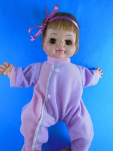 "VINTAGE 1970 HORSMAN DOLL 10.5"" Vinyl with cloth body Cute little doll Clean - $7.95"