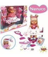 Nenuco Hairdressing Glitter Doll Baby Comb And Short El Hair Scissors Magic - $291.73