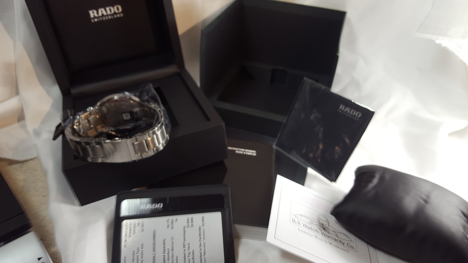 NWT Rado Men's R15943103  D-Star Quartz Watch  image 6
