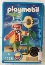 2006 Playmobil 4238 Retired Clown with Sunflower Figure New NIP NOS NIB - $14.99