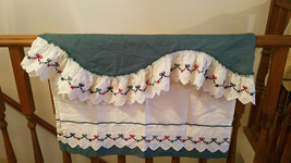 Vintage Pair of 70's Country Kitchen Curtain Valances - $19.75