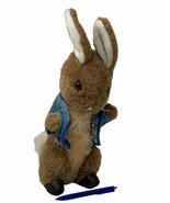 "Vtg Eden Plush Peter Rabbit Beatrix Potter Bunny 13"" Coat Slippers Stuff... - $16.50"