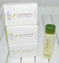 Crabtree & Evelyn Citron Honey Coriander Cleansing Bath Bars Travel Cond... - $24.70