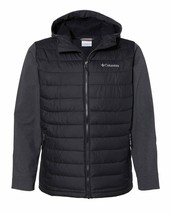 Columbia Oyanta Trail Hybrid Hooded Jacket Coat Mens Adult Sports 179912 - $124.19+