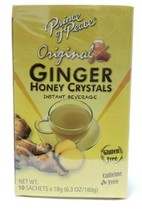 Prince of Peace Ginger Honey Crystals - 10 Tea Bags - $8.90