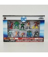 JadaToys DC Universe 10 Pack Figure Collector's Set Nano Metalfigs  - $18.70