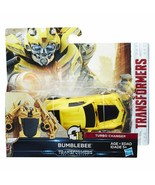 Transformers The Last Knight Turbo Changer Bumblebee - $27.70