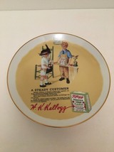 Kelloggs Collectors Plate Series I 1985 A Steady Customer Healthy Children - $19.75