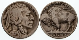Lot of 2 1924-S + 1926-S 5C Buffalo Nickels Good - VG Condition - $59.39