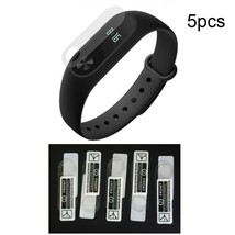 5Pcs HD Full Coverage Screen Protector Film for Xiaomi Mi Band 2 (With H... - $1.58