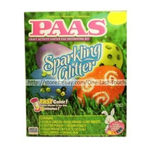 PAAS* 31pc Egg Hunt SPARKLING GLITTER Easter Tradition DECORATING KIT 2/10 - $2.99