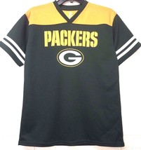 NWT NFL Wisconsin Greenbay Packers Jersey Boys Green Dry Fit Football *L - $8.39
