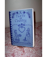 A Taste of Country Cookbook David Emanuel Academy Metter Georgia - $9.99