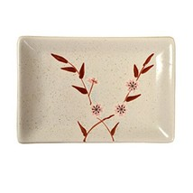 Kylin Express Rectangle Ceramic Dinner Plate Creative Japanese Sushi Plate, No.8 - $23.29