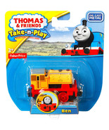Thomas The Tank & Friends Fisher Price Take-N-Play Diecast (Die Cast) Ben. NEW  - $9.49