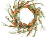 "24"" Easter Wreath Carrot Made Of Styrofoam F8"