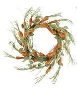 """24"""" Easter Wreath Carrot Made Of Styrofoam F8 - $128.69"""
