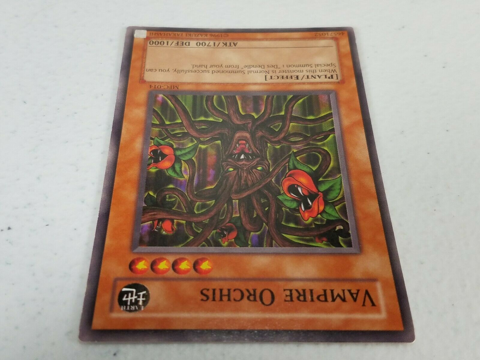 Yu-gi-oh! Trading Card - Vampire Orchis - MFC-014 - Common